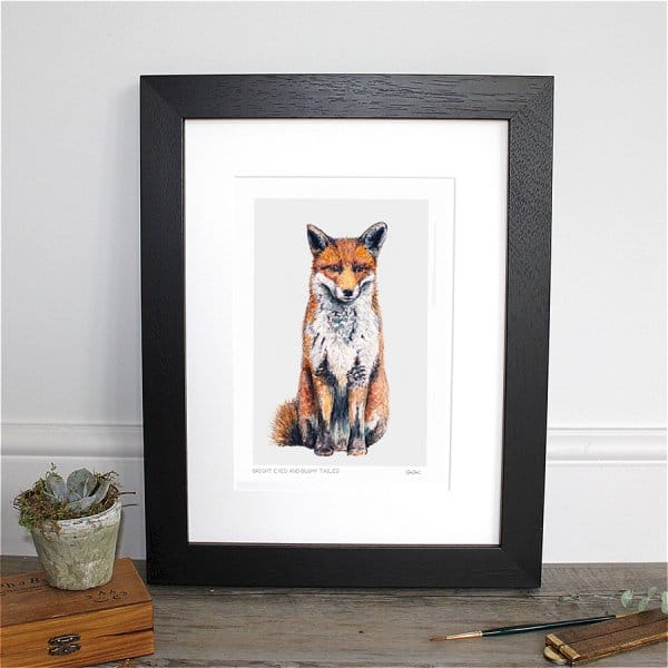 """Bright Eyed & Bushy Tailed"" Fox Collection"