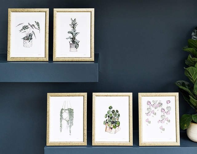 <p> Shop Our New Botanical Prints </p>